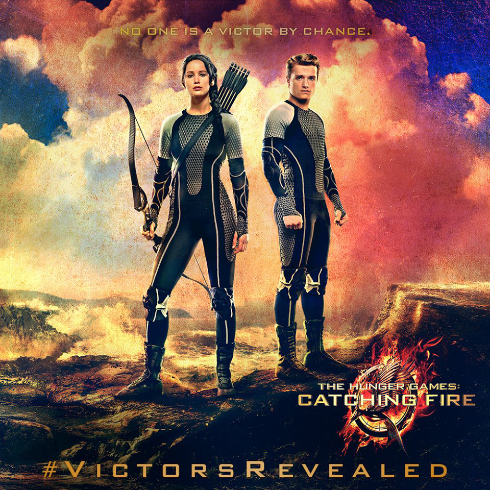 Hunger Games Catching Fire Banner